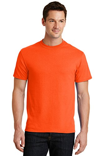 Port & Company® - Core Blend Tee. PC55 Safety Orange 5XL