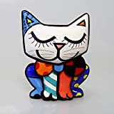 Enesco, Figura de gato multicolor
