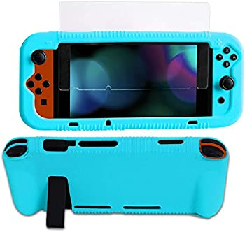 Kconn Protective Silicone Case for Nintendo Switch
