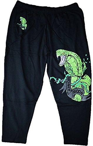 Honeymoon Pantalon de Jogging Viper Vert 2XL
