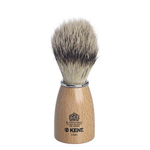 Kent Holzfass Imitat Badger Rasierpinsel klein