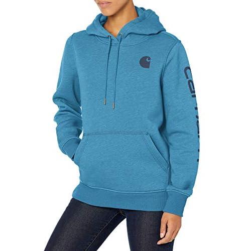 Carhartt Women's Clarksburg Graphic Sleeve Pullover Sweatshirt Sweater