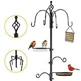 Deluxe Bird Feeding Station Kit Bird Feeding Pole Wild Bird...