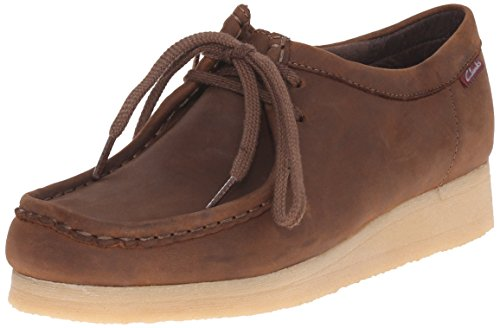 Clarks Women's Padmora Oxford, Brown Smooth, 8.5 M US