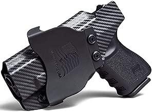 Concealment Express OWB Paddle KYDEX Holster fits H&K P30/P2000 | Right | Carbon Fiber Black