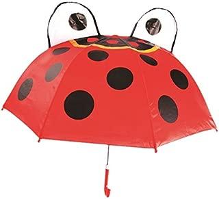 Kids Umbrella - Childrens 18 Inch Rainy Day Umbrella - Ladybug