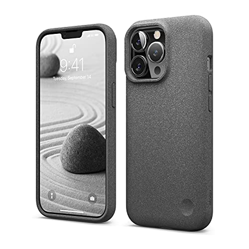 elago Pebble Compatible with iPhone 13 Pro Case 6.1 Inch, Shockproof Protective Cover, Special Pebble Coated Surface, Enhanced Camera Protection, Dust Free, Ergonomic Rounded Shape, Premium TPU