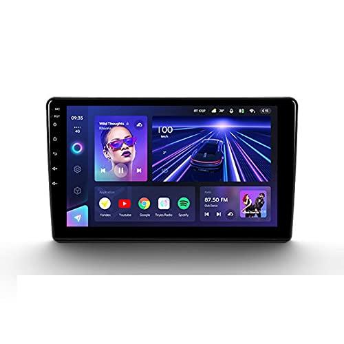ADMLZQQ Android 10 Radio De Coche 9 Pulgadas Pantalla Tactil para Citroen Berlingo 2 B9 NavegacióN GPS del Reproductor Multimedia EstéReo con SWC/Carplay/Dsp/BT + CáMara Trasera,8core WiFi+4G:3+32G