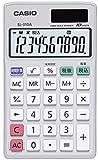 カシオ (CASIO) 手帳タイプ電卓10桁表示 SL-310A-N 1個 334-9683
