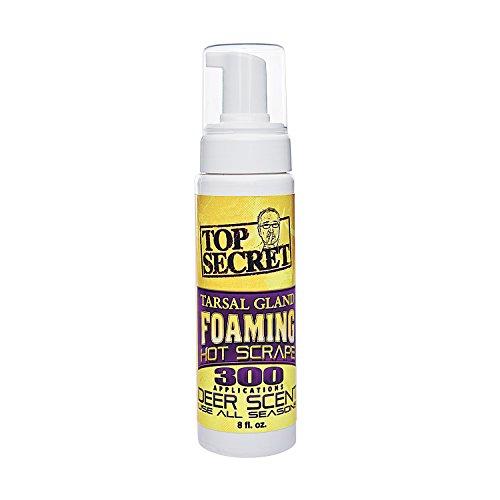 Top Secret Tarsal Gland Foaming Hot Scrape 8oz Deer Scent #00255