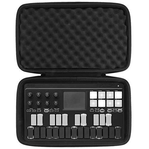 korg midi keyboards khanka Hard Travel Case Replacement for Compatible with Korg Midi Controller (NANOKEY-ST)