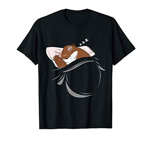 Eichhörnchen schläft Schlafanzug Oberteil Eichhörnchen T-Shirt