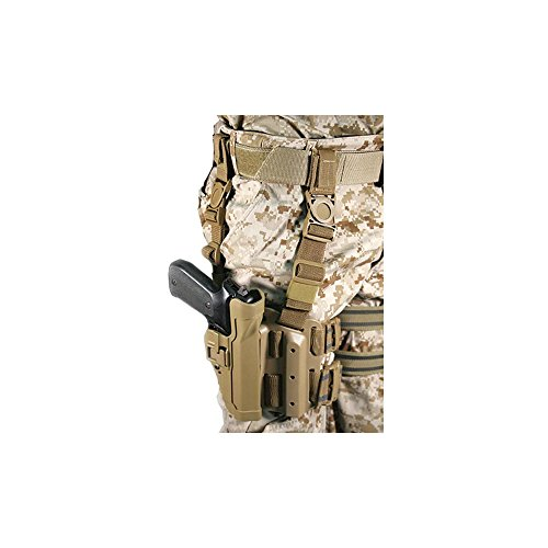 BLACKHAWK! Serpa 430504CT-R Holster Beretta 92,96, Tactical Coyote Tan