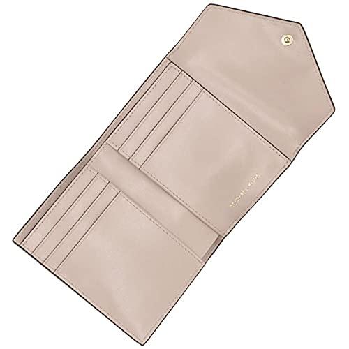MICHAELKORS(マイケルコース)財布三つ折りJETSETミディアムロゴ&レザーエンベロープウォレット三つ折り財布32H9GJ6E6B0001173[並行輸入品]