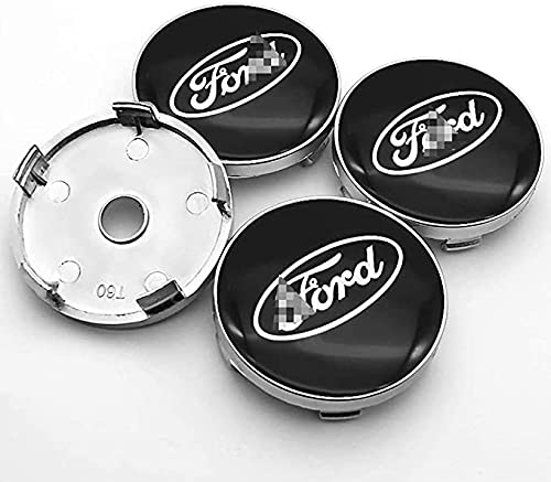 4 StÜCke 60mm Nabendeckel Car Rad Center Hub Cap Auto Styling FüR Ford Mustang Explorer Fiesta Focus Kuga