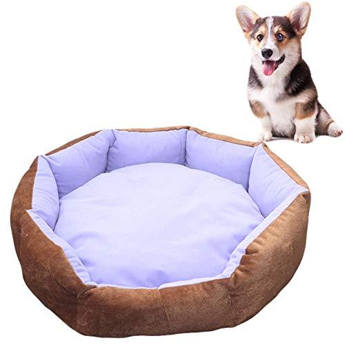 JOOFFF Duradera cama para perro transpirable, sofá cama para mascotas lavable a máquina, sofá cama cama para perros, interior y exterior, gatos, color morado
