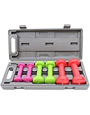 Weight range Set 10 kg, multi color