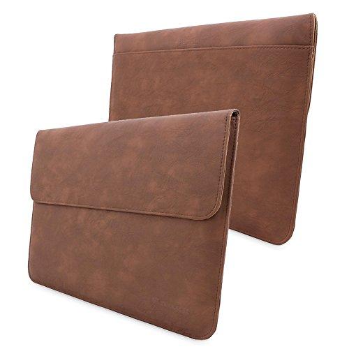 MacBook Pro 15Schutzhülle, Snugg ™–Leder Sleeve (Distressed Braun) für Apple MacBook Pro 15