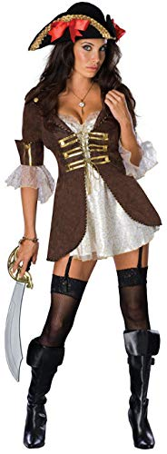 Rubie's 888543 Official Buccaneer Pirate Secret Wishes Costume, Women's,...