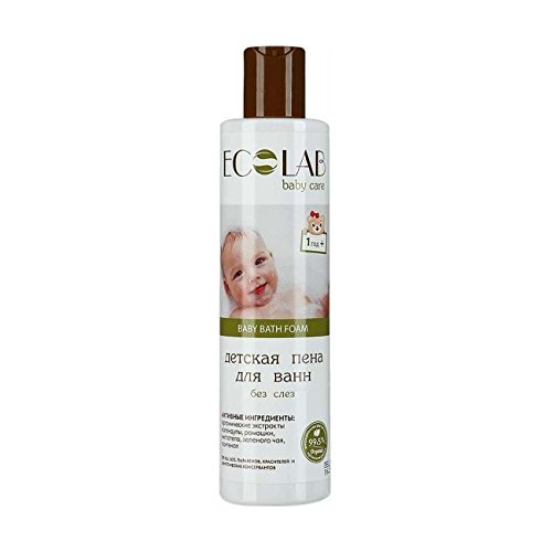 EO Labortorie Natural & Organic Baby Bath Foam 250ml