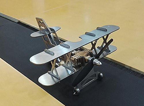 Moteur Stirling Moteur d'avion Mode jouet éducatif