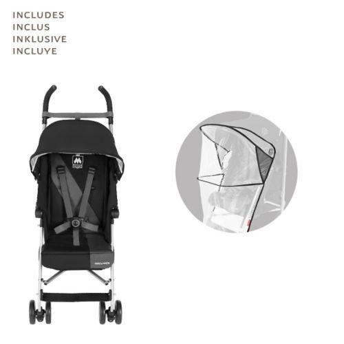 Maclaren Triumph Stroller, Black/Charcoal