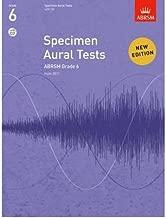 Specimen Aural Tests, Grade 6, with CD: from 2011 (Specimen Aural Tests (Abrsm)) (Sheet music) - Common