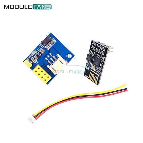 ESP8266 ESP-01 WS2812 RGB LED-Controller-Modul für Arduino IDE WS2812 Light Ring Smart Electronic DIY mit Stecker ESP-01S