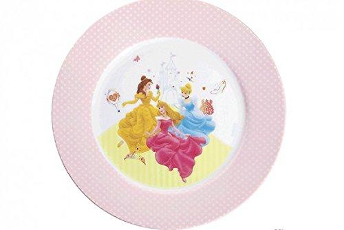 WMF Disney Princess Kindergeschirr Kinderteller 19,0 cm, Porzellan, spülmaschinengeeignet, farb- und lebensmittelecht