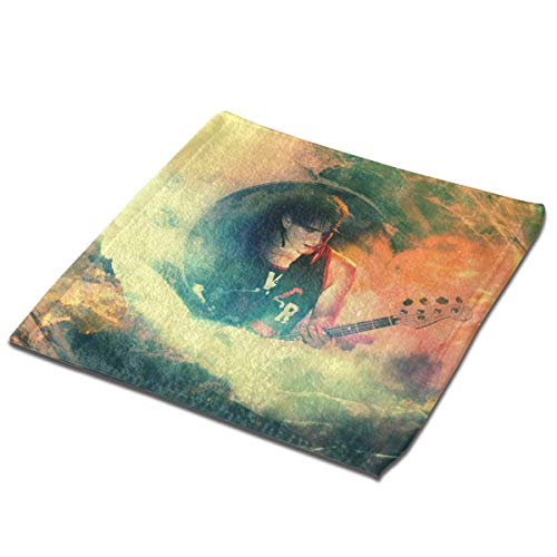 Yuanmeiju Toalla Cuadrada We Came As Roman Microfiber Square Towel, Soft and Skin Friendly Sports Towel, Face Towel, Hand Towel 13 X 13 Inches