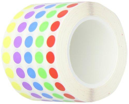 Diversified Biotech Tough-Spots SPRL-1100 Polyvinyl Label for 1.5-2ml Tube, 3/8