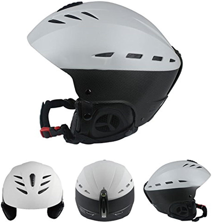 ETbotu Adult Windproof Lightweight Ventilate Adjustable Professional Outdoors Riding Bike Skiing Helmet for Men Women