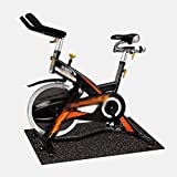 Alfombrilla multiusos para equipos de ejercicio Alfombrilla protectora de suelo para bicicleta estática Cinta de correr Suelo de gimnasio en casa de alta densidad Alfombrillas para equipos de fitness