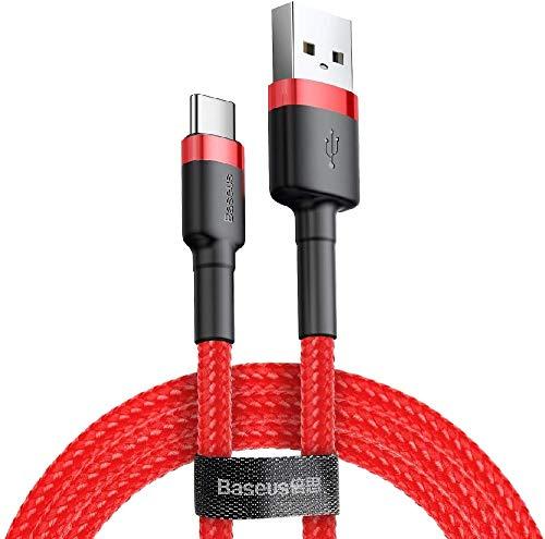 Cable Tipo C a USB, carga rápida y transferencia de datos [5V-2A/1M-0,5M],...