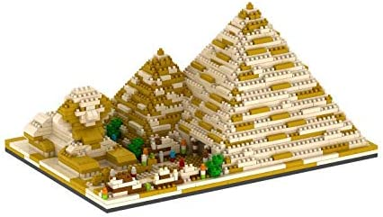 2021 dOvOb Architecture Pyramid of Khufu Micro wholesale Block Building Set 3D Puzzle Toy (1456 pcs) Gift popular for Adults and Kids online