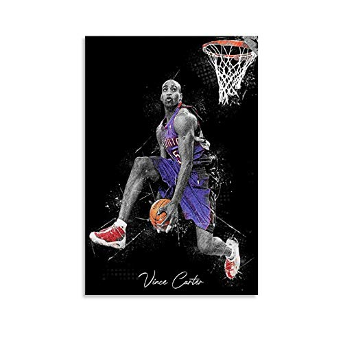 SOROP Póster artístico de baloncesto con imagen impresa moderna para habitación familiar, 50 x 75 cm