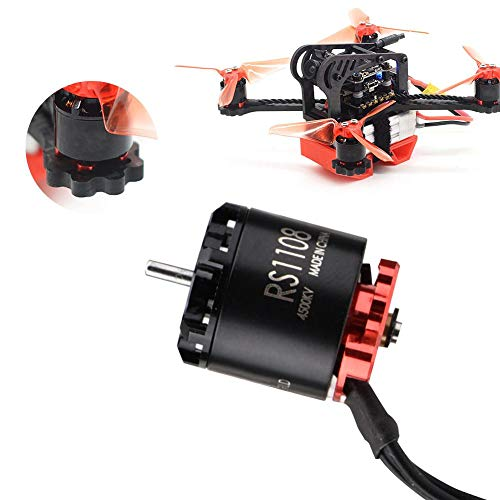 Bürstenlosen Motor, EMAX RS1108 Brushless Motor Zubehör für Quadcopter 2-3S DIY RC Drohne(4500KV)