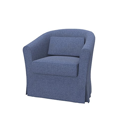 Soferia - IKEA EKTORP TULLSTA Funda para sillón, Naturel Blue
