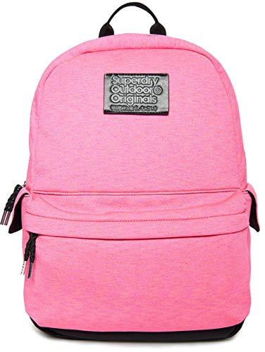 Superdry Montana Jersey Stripe Backpack Pink Multi Stripe