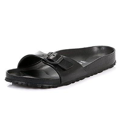 Birkenstock Women's Madrid EVA Sandals, Black Synthetic, 40