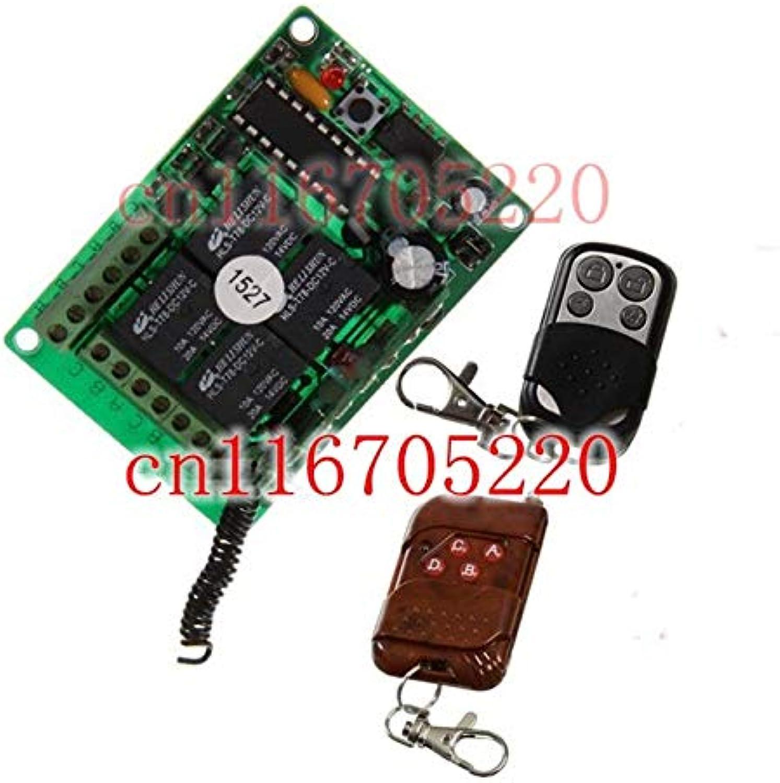 High Quality DC12V 10A 4CH Power Output Wireless RF Remote Control Switch System 12V 2 Transmitter &1Receiver