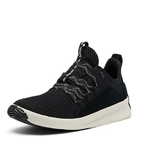 Sorel Women's Out N About Plus Sneaker - Casual, Light Rain - Waterproof - Black - Size 7