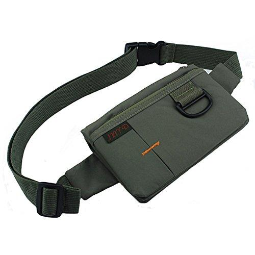 Extérieur Taille Pack, smartphone Taille Pack Vert foncé (18,5 * * * * * * * * 11,5 * * * * * * * * 1,5 cm)