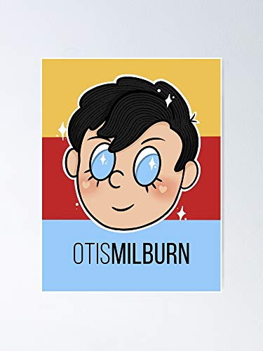 Otis Milburn - Póster colorido para decoración de oficina, colegios de Dorm, Teachers, Classroom, Gym Workout and School Halloween, Holiday, Christmas Party !