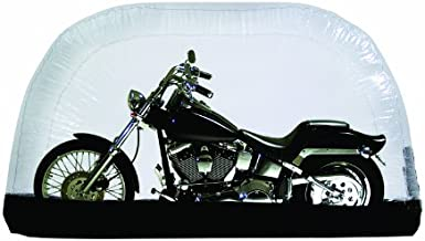 CarCapsule 8 Foot Indoor Inflatable Motorcycle Cover and Storage