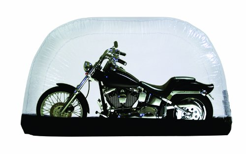 CarCapsule 8 Foot Indoor Inflatable Motorcycle Cover and...