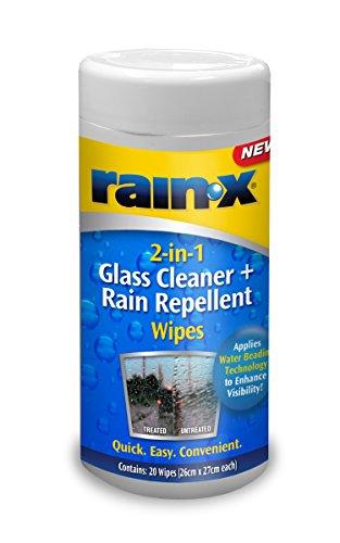 Regen x 88199Wipe 2-in-1-Glas Reiniger und Regen abweisend Tücher