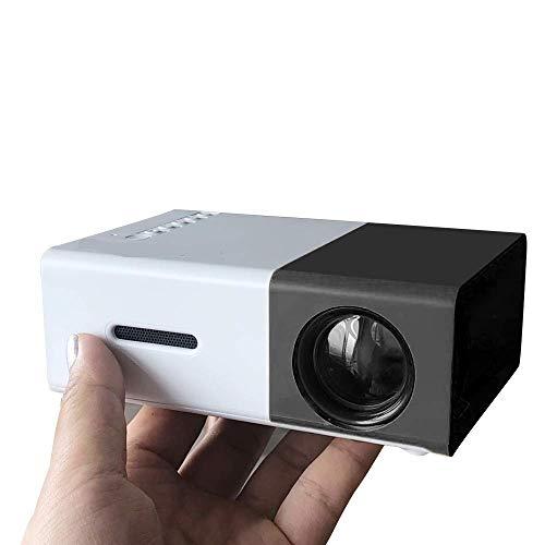 WYJW draagbare beamer, 1500 lcd, met AV/Vga/USB/HD/Mi, compatibel met laptop | smartphone, iPhone