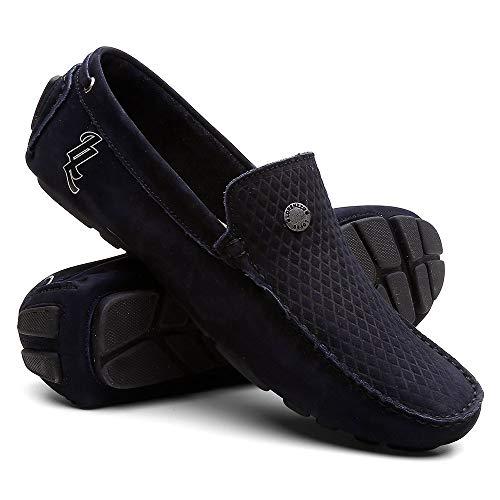 Mocassim Masculino Sapato Para Dirigir - Preto - 39