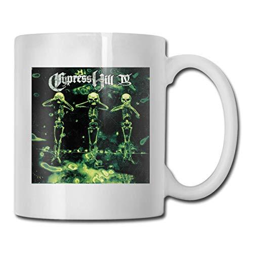 N\A Tasse à café Welerony Home Cypress Hill - IV Tasse intéressante 330 ML Tasse à café en céramique Tasse à thé